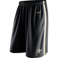 Men's New Orleans Saints Black Epic Team Logo Shorts