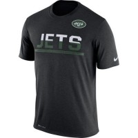 Men's New York Jets Nike Practice Legend Performance T-Shirt Black