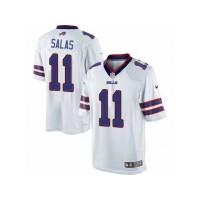 Men's Nike Buffalo Bills #11 Greg Salas Limited White NFL Jersey