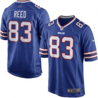 Men's Nike Buffalo Bills #83 Andre Reed Royal Blue Game Jersey