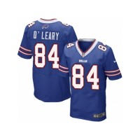 Men's Nike Buffalo Bills #84 Nick O'Leary Elite Royal Blue Team Color NFL Jersey