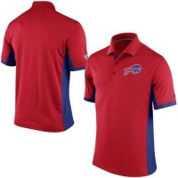 Men's Nike NFL Buffalo Bills Red Team Issue Performance Polo