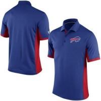 Men's Nike NFL Buffalo Bills Royal Team Issue Performance Polo