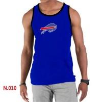 Men's Nike NFL Buffalo Bills Sideline Legend Authentic Logo Tank Top Blue