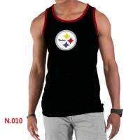 Men's Nike NFL Pittsburgh Steelers Sideline Legend Authentic Logo Tank Top Black