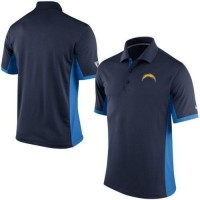 Men's Nike NFL San Diego Chargers Navy Team Issue Performance Polo
