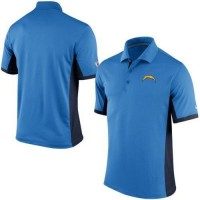 Men's Nike NFL San Diego Chargers Powder Blue Team Issue Performance Polo