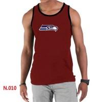 Men's Nike NFL Seattle Seahawks Sideline Legend Authentic Logo Tank Top Red