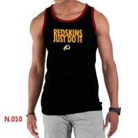 Men's Nike NFL Washington Redskins Sideline Legend Authentic Logo Tank Top Black_1