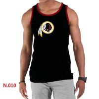 Men's Nike NFL Washington Redskins Sideline Legend Authentic Logo Tank Top Black_2