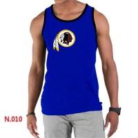 Men's Nike NFL Washington Redskins Sideline Legend Authentic Logo Tank Top Blue