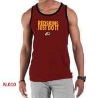 Men's Nike NFL Washington Redskins Sideline Legend Authentic Logo Tank Top Red_1