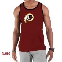 Men's Nike NFL Washington Redskins Sideline Legend Authentic Logo Tank Top Red_2