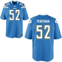 Men's Nike San Diego Chargers #52 Denzel Perryman Light Blue Alternate Game Jersey