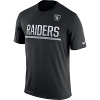Men's Oakland Raiders Nike Practice Legend Performance T-Shirt Black