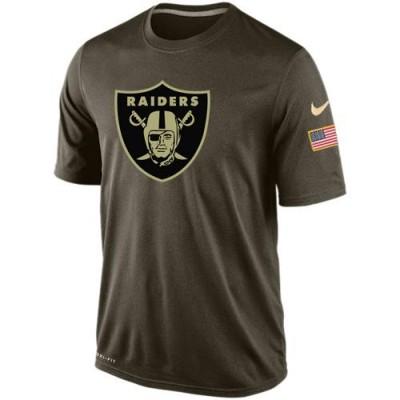 Men's Oakland Raiders Salute To Service Nike Dri-FIT T-Shirt