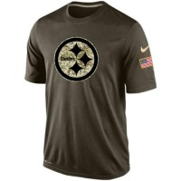 Men's Pittsburgh Steelers Salute To Service Nike Dri-FIT T-Shirt