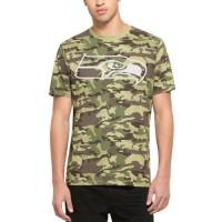 Men's Seattle Seahawks '47 Camo Alpha T-Shirt