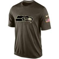 Men's Seattle Seahawks Salute To Service Nike Dri-FIT T-Shirt