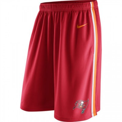 Men's Tampa Bay Buccaneers Red Epic Team Logo Shorts