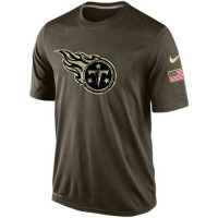 Men's Tennessee Titans Salute To Service Nike Dri-FIT T-Shirt