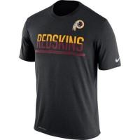 Men's Washington Redskins Nike Practice Legend Performance T-Shirt Black