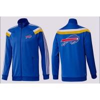 NFL Buffalo Bills Team Logo Jacket Blue_4