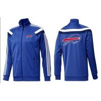 NFL Buffalo Bills Team Logo Jacket Blue_5