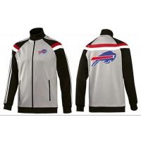 NFL Buffalo Bills Team Logo Jacket Grey