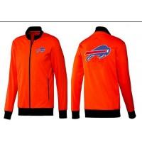 NFL Buffalo Bills Team Logo Jacket Orange