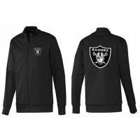 NFL Oakland Raiders Team Logo Jacket Black_1