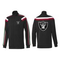 NFL Oakland Raiders Team Logo Jacket Black_2