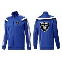 NFL Oakland Raiders Team Logo Jacket Blue