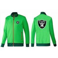 NFL Oakland Raiders Team Logo Jacket Green