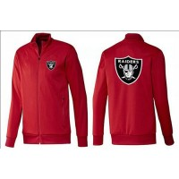NFL Oakland Raiders Team Logo Jacket Red