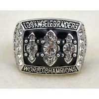 NFL Oakland Raiders World Champions Silver Ring_2