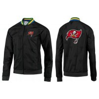 NFL Tampa Bay Buccaneers Team Logo Jacket Black_1