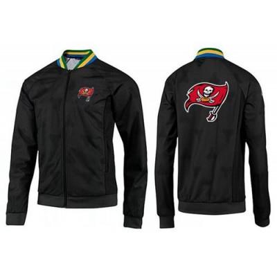 NFL Tampa Bay Buccaneers Team Logo Jacket Black_1