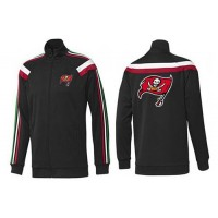 NFL Tampa Bay Buccaneers Team Logo Jacket Black_2