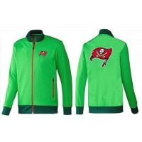 NFL Tampa Bay Buccaneers Team Logo Jacket Green