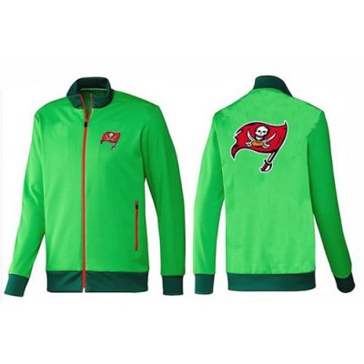 NFL Tampa Bay Buccaneers Team Logo Jacket Green
