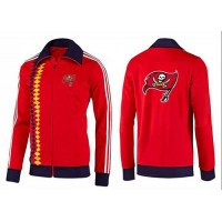 NFL Tampa Bay Buccaneers Team Logo Jacket Red_2