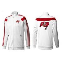 NFL Tampa Bay Buccaneers Team Logo Jacket White_2