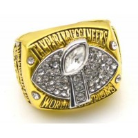 NFL Tampa Bay Buccaneers World Champions Gold Ring_1