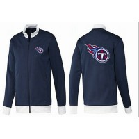 NFL Tennessee Titans Team Logo Jacket Dark Blue_1