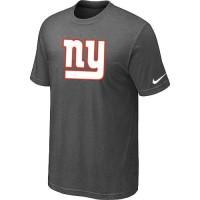 New New York Giants Sideline Legend Authentic Logo Dri-FIT Nike NFL T-Shirt Crow Grey