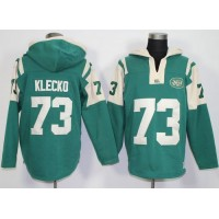 New York Jets #73 Joe Klecko Green Player Winning Method Pullover NFL Hoodie