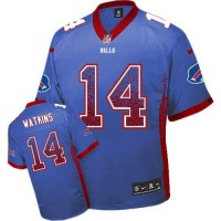 Nike Bills #14 Sammy Watkins Royal Blue Team Color Men's Stitched NFL Elite Drift Fashion Jersey