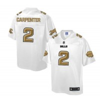 Nike Bills #2 Dan Carpenter White Men's NFL Pro Line Fashion Game Jersey