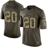 Nike Bills #20 Corey Graham Green Men's Stitched NFL Limited Salute To Service Jersey